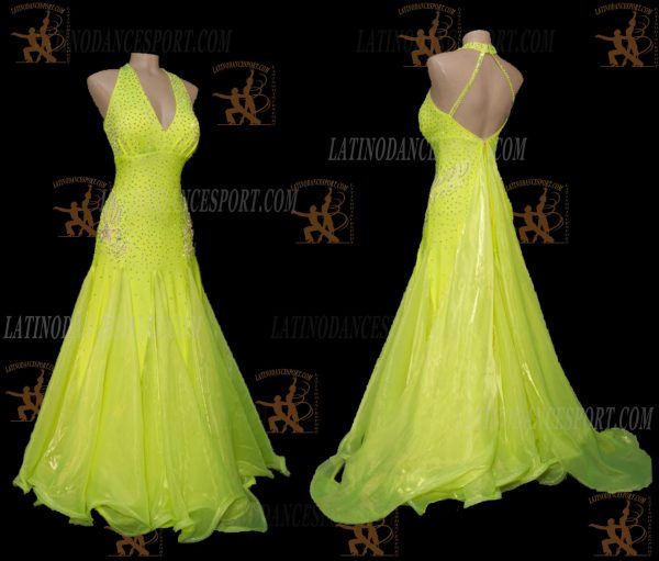 Latinodancesport.com-Ballroom Standard Smooth Dance Dress-SDS-49