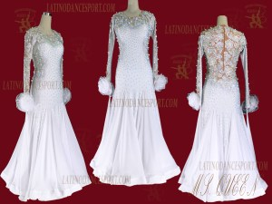 Latinodancesport.com-Ballroom Standard Smooth Dance Dress-SDS-59