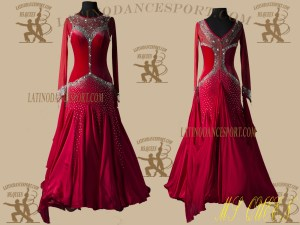 Latinodancesport.com-Ballroom Standard Smooth Dance Dress-SDS-42