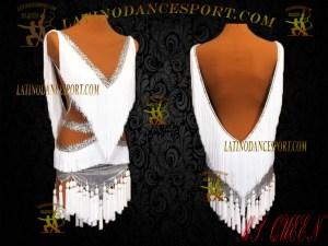 Latinodancesport Ballroom Dance LDS-04 Latin Dress Tailored