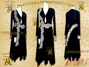Latinodancesport Ballroom Dance LDS-37 Latin Dress Tailored