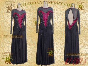 Latinodancesport Ballroom Dance SDS-02 Standard/Smooth Dress Tailored Competition