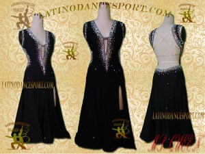 Latinodancesport Ballroom Dance LDS -96 Latin Dress Tailored