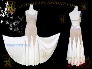 Latinodancesport Ballroom Dance SDS-70 Standard/Smooth Dress Tailored Competition