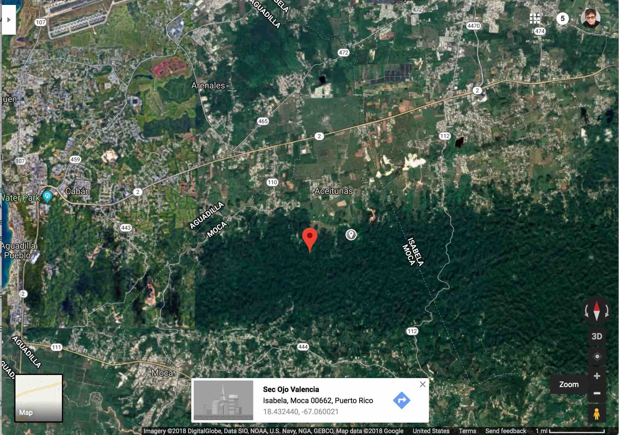 Google Maps 2018 Puerto Rico Archives