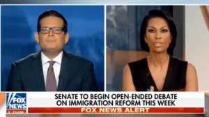 "Interview on ""Outnumbered"" Fox News: ""Senate to begin debate on immigration reform"""