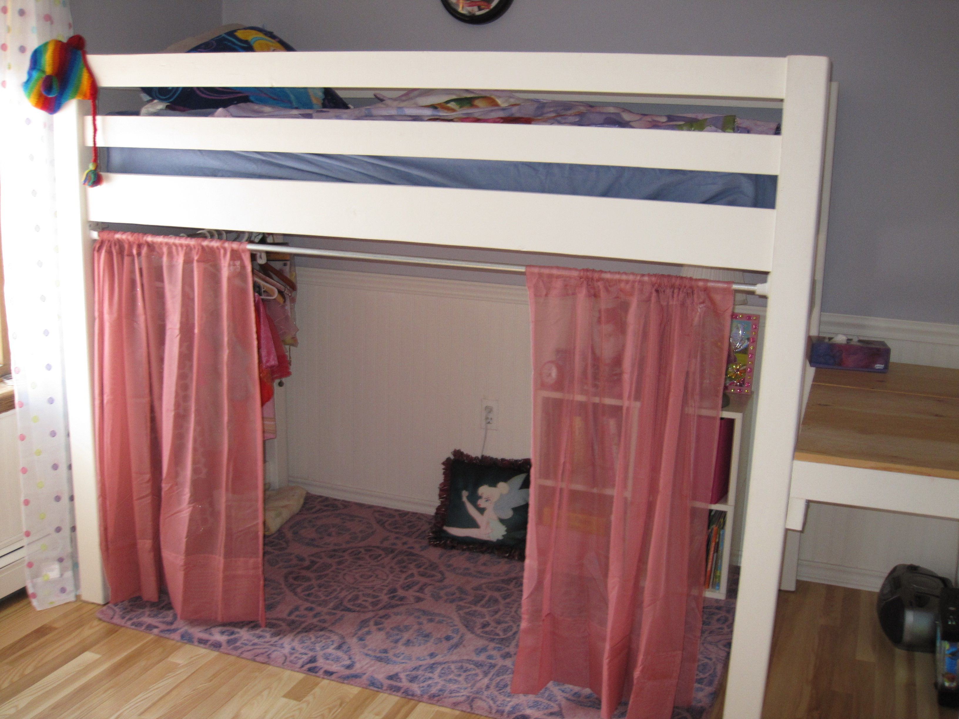 Curtain Bed Divider Design Ideas With Bunk Curtains & loft bed curtains how to make | Gopelling.net