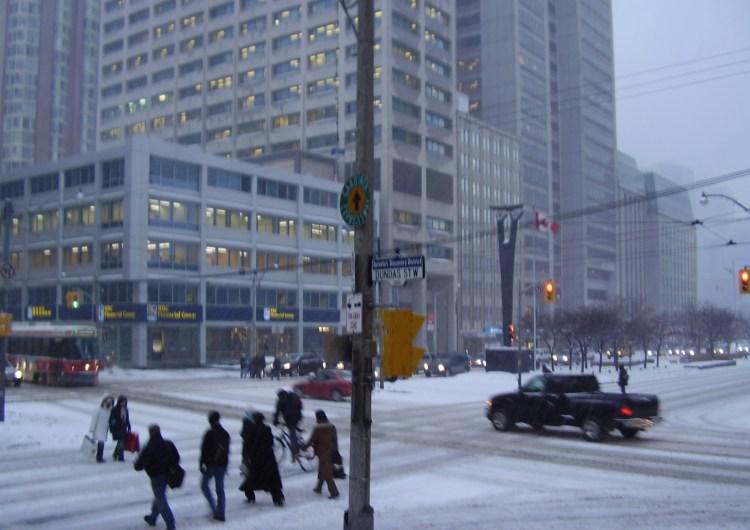 Toronto podría sentirse como a -16 ºC esta noche