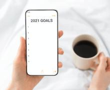 ¿Cómo cumplir tus propósitos de Año Nuevo en pleno COVID-19?