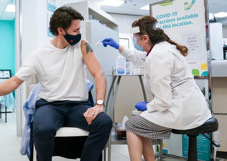 Justin Trudeau confía en la vacuna de AstraZeneca