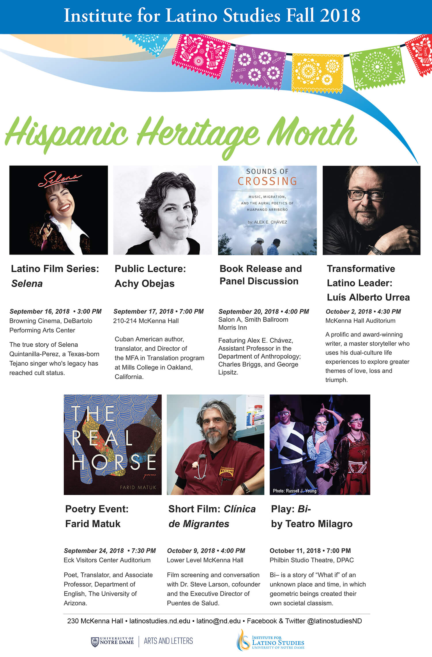 National Hispanic Heritage Month News Institute For