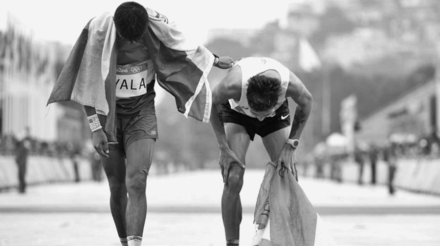 """""""Ser olímpico"""" es llegar"""