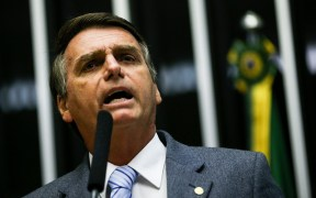 photo of Jair Bolsonaro