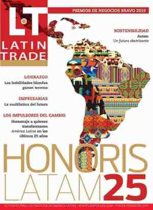 cover of the Latin Trade Magazine