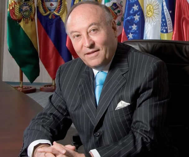 photo of Enrique Garcia, Presidente, Corporación Andina de Fomento (CAF)