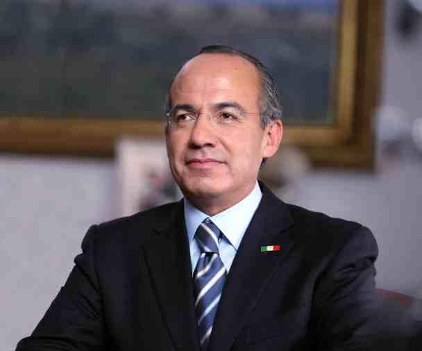 photo of Felipe Calderon, former president of Mexico