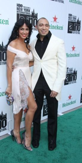 Celines Toribio with Calisto Chinchillo