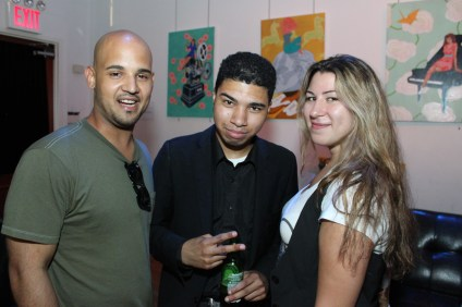Party Goers in the Axe Twist Industry Lounge 5