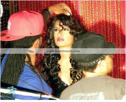 Rocsi Diaz Behind the Scenes 07