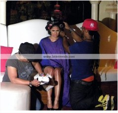 Rocsi Diaz Behind the Scenes 28