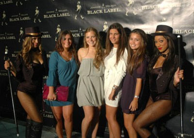 Step and Repeat with girls