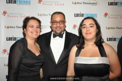 Left to right: From LatinTRENDS, account executive Becky Rumayor, found & CEO Juan Guillen, and administrative assistant Hope Lawrence