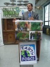 Congressman Jose Serrano at Green Bronx Machine Event.121012