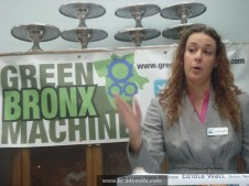 KristenMueller.Program Mgr.Earth Force at Green Bronx Machine Event.121012