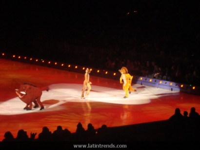 Simba, Timone, and Punba of The Lion King