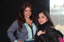 Denise Bidot hanging out with The Digital Latina