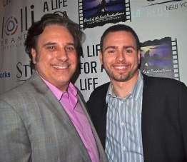 Actor Lou Martini Jr and Adam Lawrence