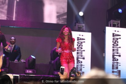 Leslie Grace performs