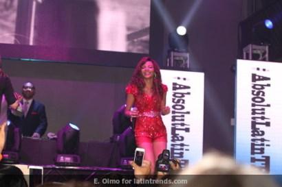 Leslie Grace performs