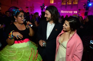 "Hennessy V.S hosted Marysol Hernandez from La Santa Cecilia, Diego Luna, and America Ferrera to celebrate the premiere of ""Cesar Chavez"""