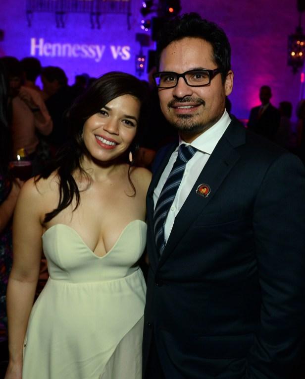 America Ferrera and Michael Peña