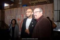 Bronx Walk of Fame Honorees Swizz Beatz (l) and David Zayas (r)