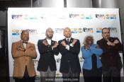 L to R: Council Member Andy King, Hip-Hop Artist Swizz Beatz (Honoree) , Bronx Borough President Ruben Diaz Jr., Deputy Bronx Borough President Aurelia Greene, Actor & Former Latino Trendsetter David Zayas