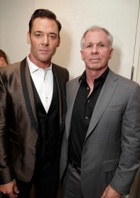 Marton Csokas and Producer/Writer Richard Wenk