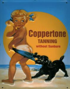 Coppertone Tanning Ad