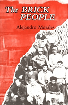Cover of the novel, The Brick People, which shows brick workers.