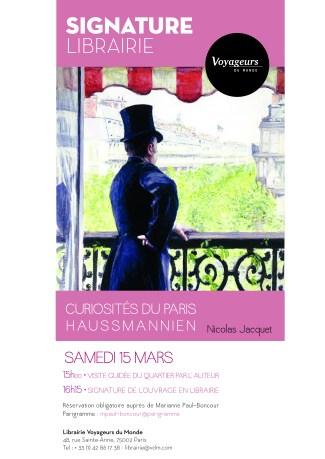 Curiosités du Paris Haussmannien - Affiche