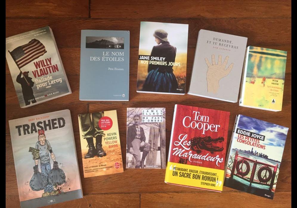 Retour du festival les bras chargés de livres et la tête pleine de bons conseils de lectures !