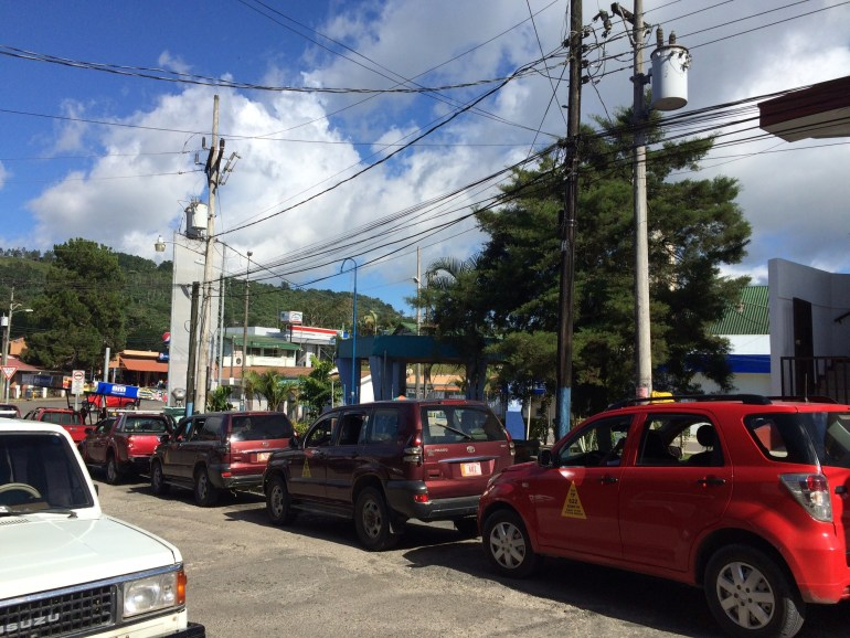 taxi-stand1 Running for the Border Costa Rica Panama The Expat Life