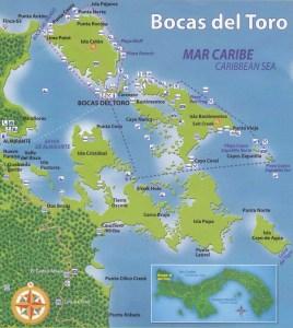 mapa-de-bocas_0001 Bocas del Toro Getaway Bocas del Toro The Expat Life