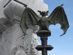 bat_detail_bomberos_monument_havana Havana has cemetery stories, too Cuba