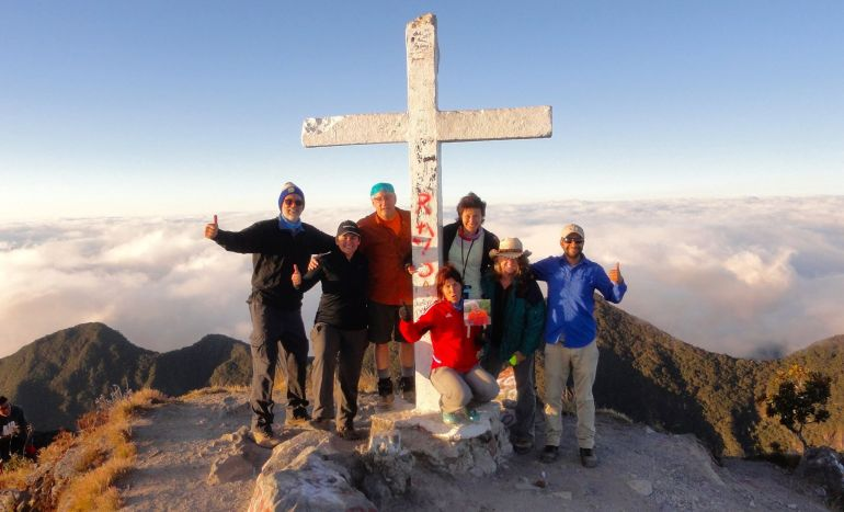 gang-at-the-top-2 Volcán Barú: Another tick off the bucket list! Panama The Great Outdoors