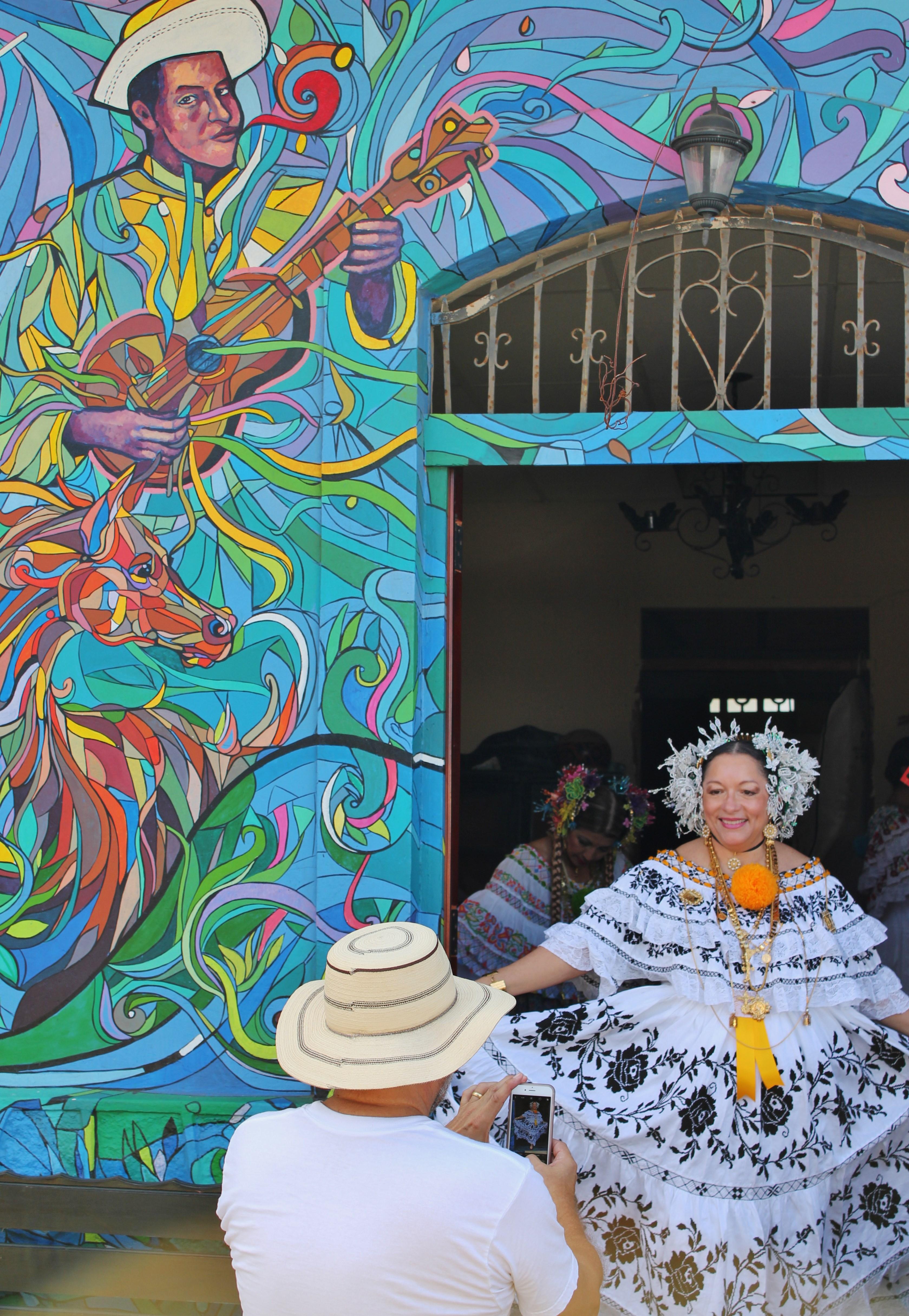 pollera-photo-opp A Panama Road Trip Panama Panama Fairs and Festivals