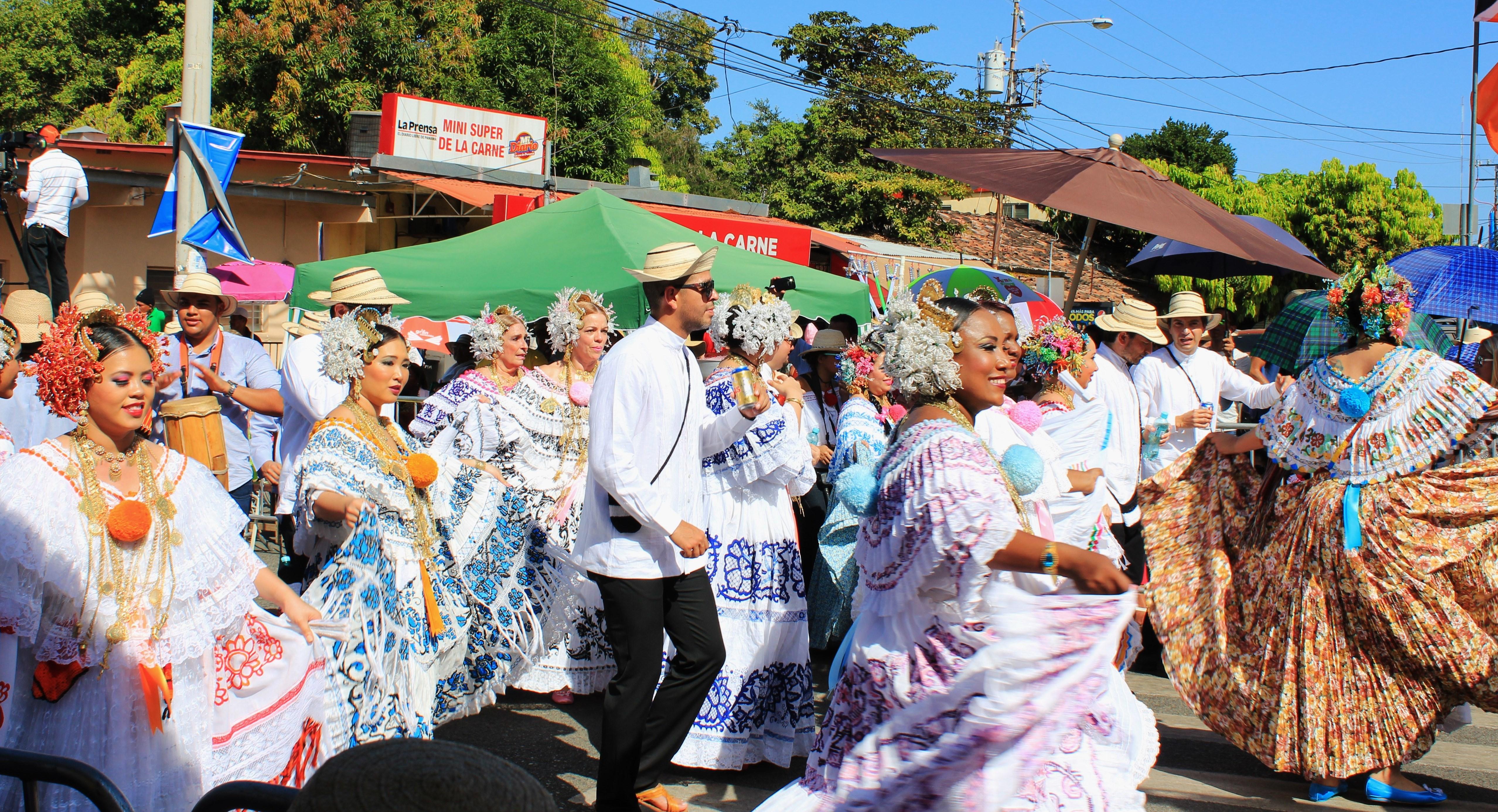 swirling-skirts-pollera-parade-5 A Panama Road Trip Panama Panama Fairs and Festivals