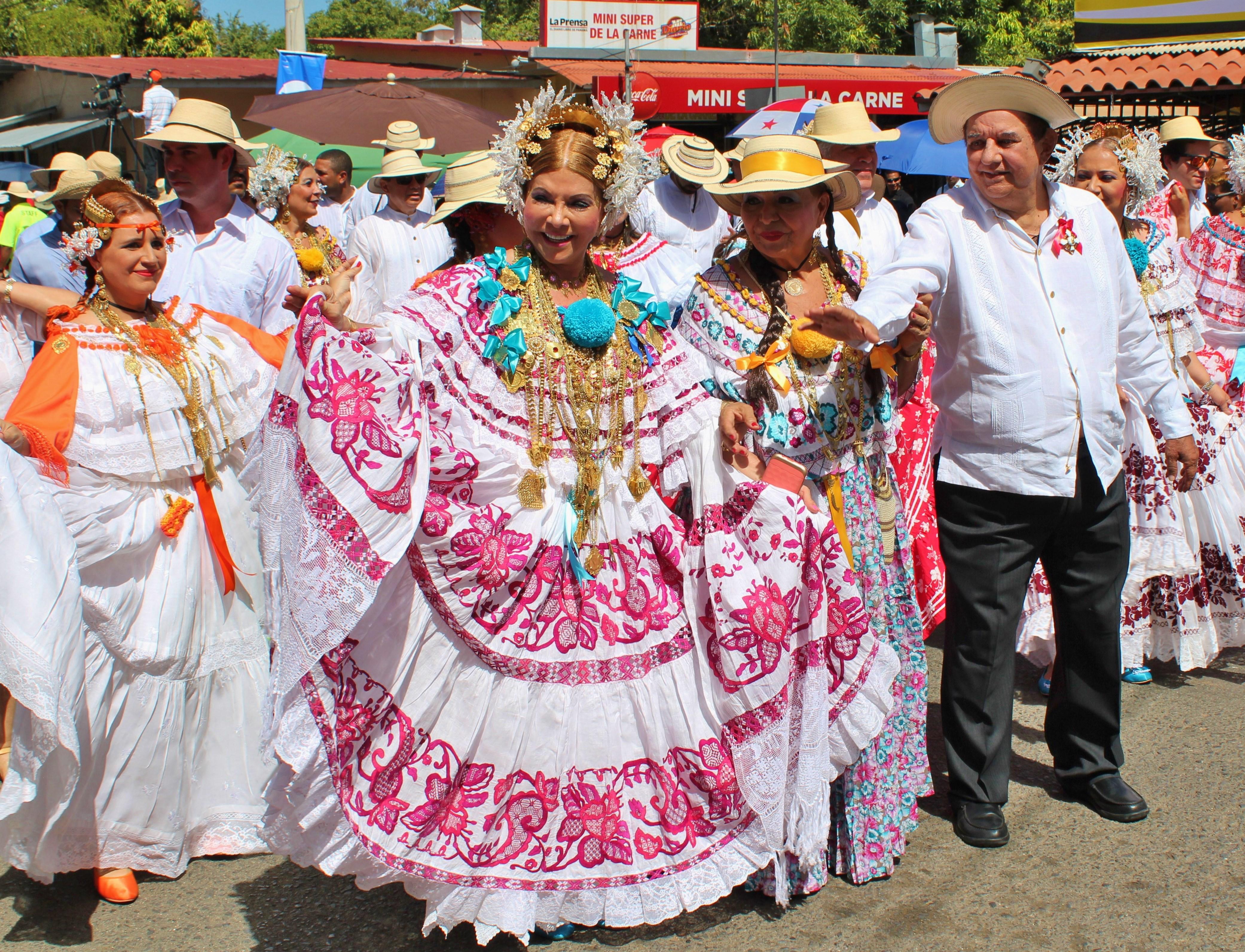 very-first-pollera A Panama Road Trip Panama Panama Fairs and Festivals