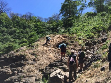 Kiki-Falls-ascent The Waterfalls Just Keep Getting Better . . . Hiking in Panama Panama The Great Outdoors